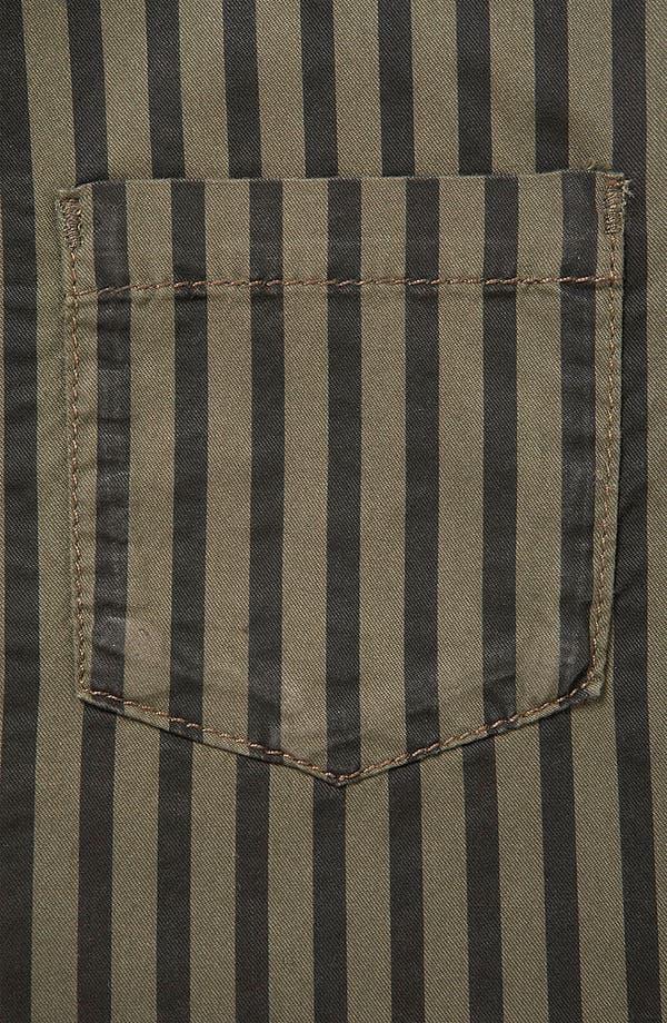 Alternate Image 3  - Topshop Stripe Sleeveless Crop Shirt