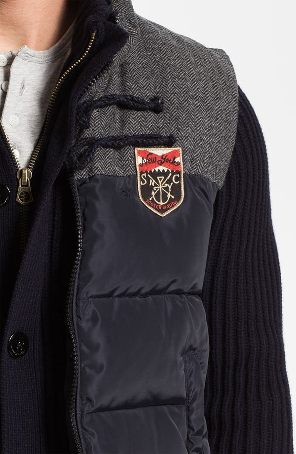 Alternate Image 3  - Scotch & Soda Sweater & Vest Combo
