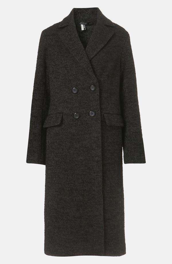 Alternate Image 1 Selected - Topshop 'Prem Longline Mensy' Boyfriend Coat