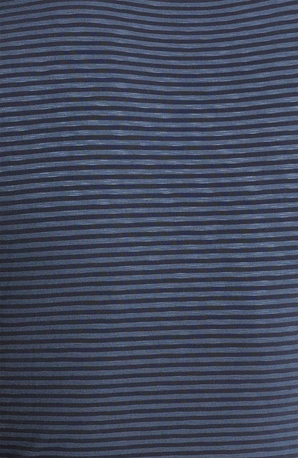 Alternate Image 3  - Armani Collezioni Jersey Stripe Crewneck T-Shirt