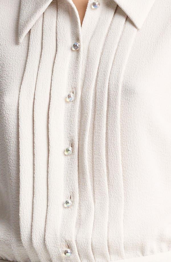 Alternate Image 3  - Moschino Cheap & Chic Pleated Shirtdress