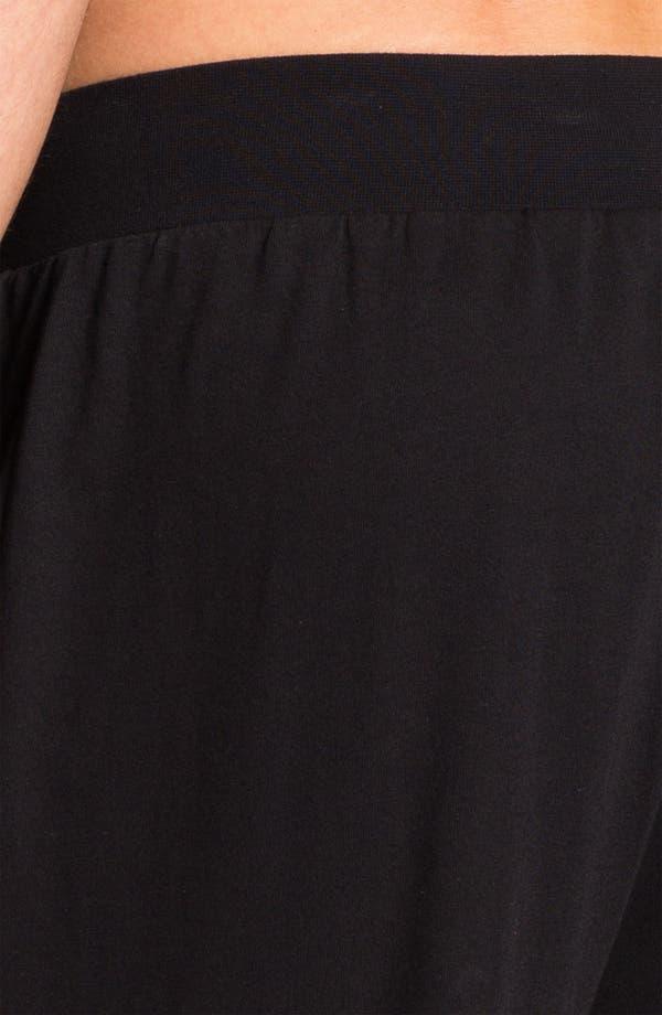 Alternate Image 3  - BOSS Black Cotton Lounge Pants
