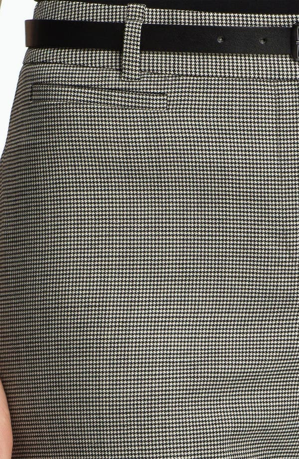 Alternate Image 3  - Classiques Entier® Belted Houndstooth Stretch Wool Pants
