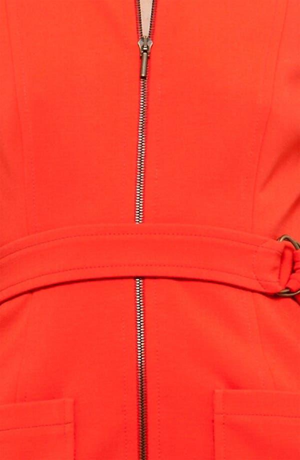 Alternate Image 3  - Akris punto Belted Jersey Dress