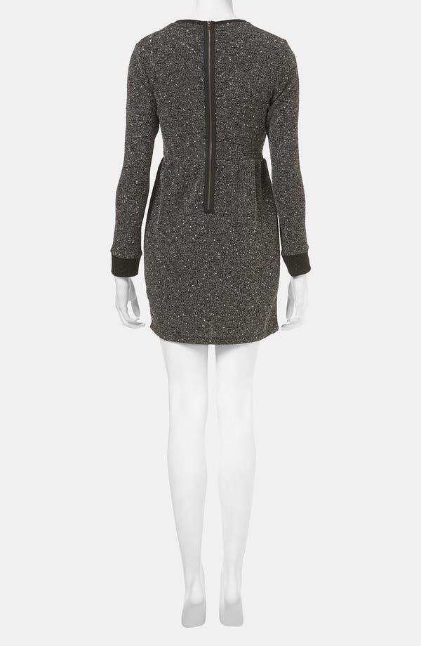 Alternate Image 2  - Topshop Mélange Knit Dress (Petite)