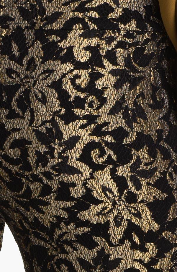Alternate Image 3  - Haute Hippie Metallic Lace Leggings