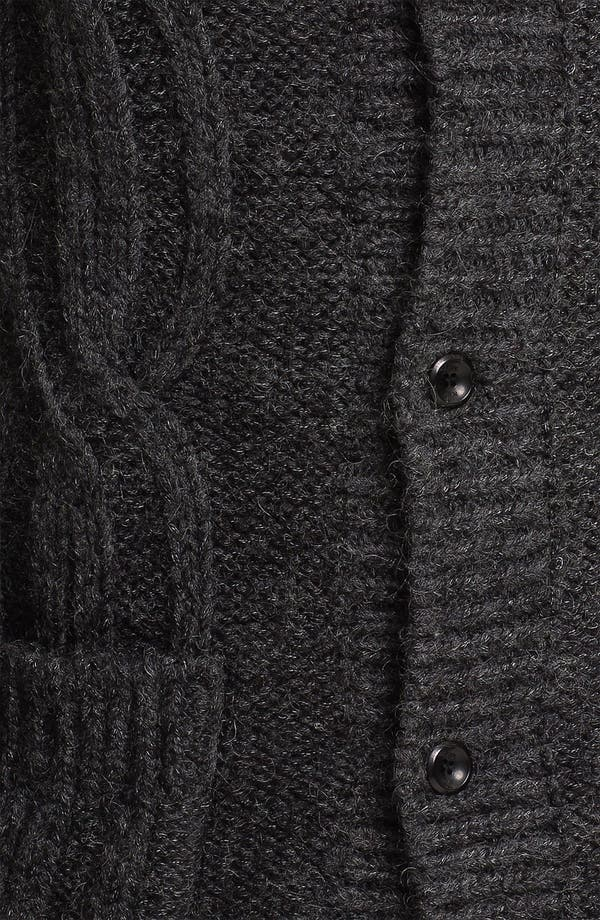 Alternate Image 3  - J.C. Rags Cable Knit Cardigan