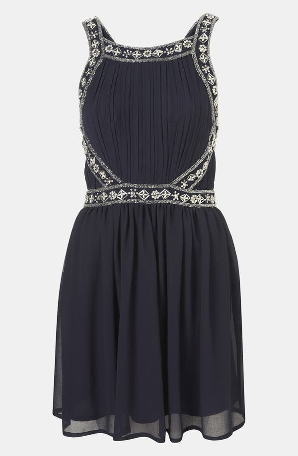 Main Image - Topshop Embellished Goddess Dress