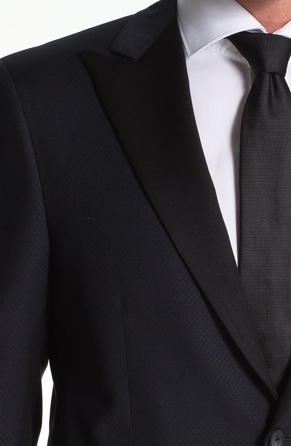 Alternate Image 3  - Samuelsohn Peak Lapel Dinner Jacket