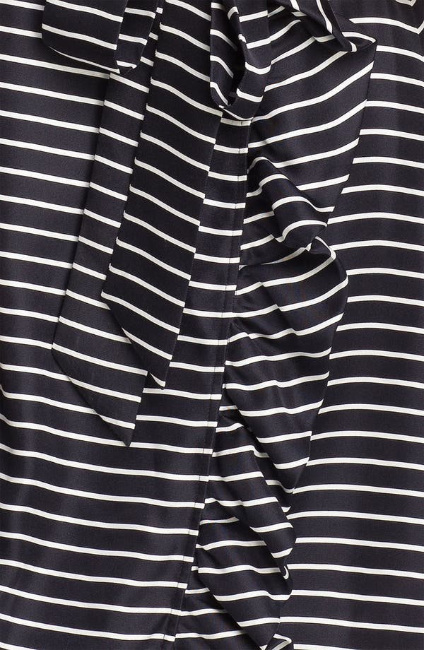 Alternate Image 3  - kate spade new york 'daniella' stripe silk wrap dress