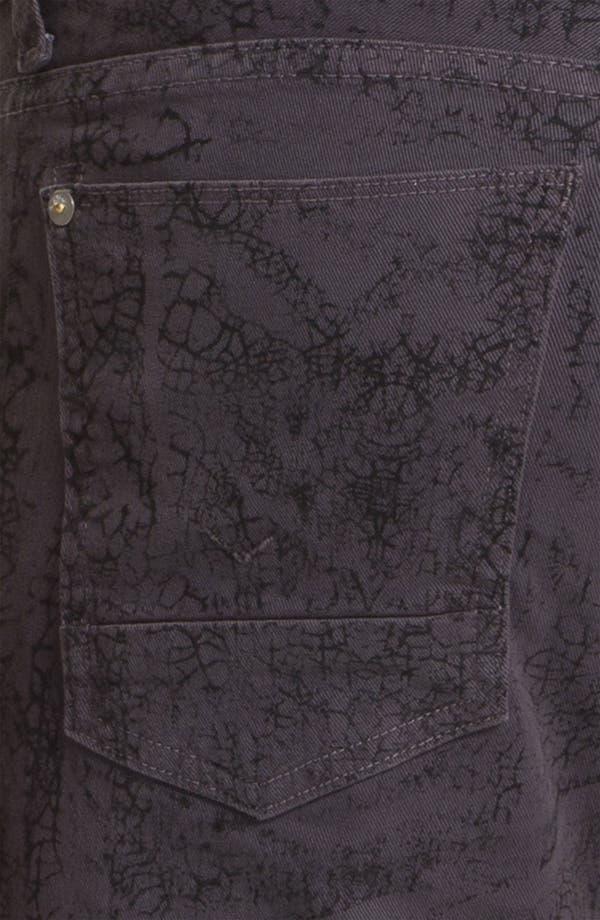 Alternate Image 4  - Hudson Jeans 'Sartor' Slouchy Skinny Leg Jeans (Gone Platinum)