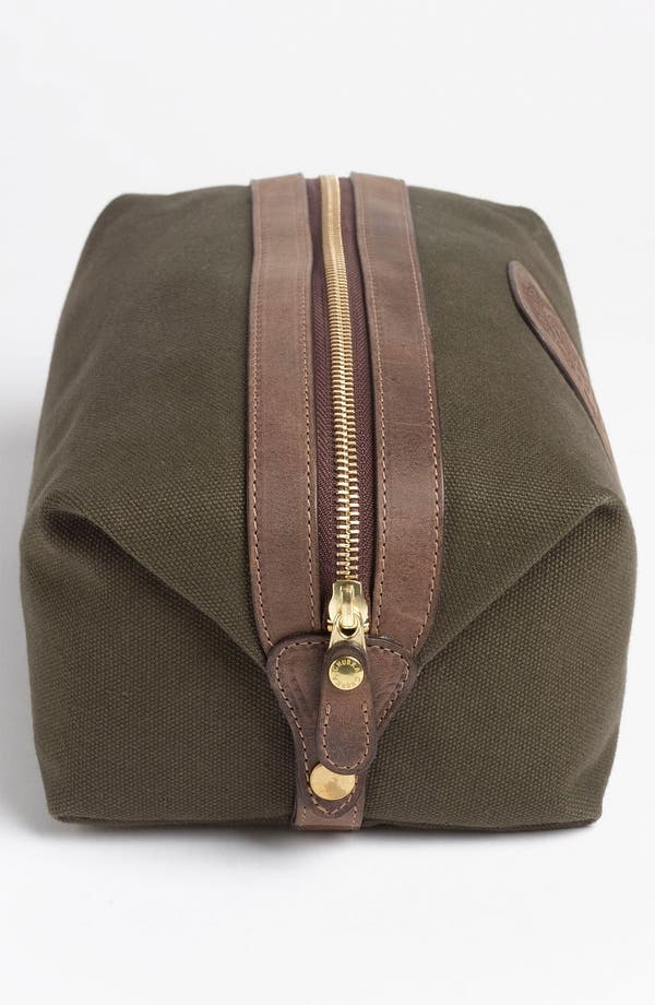 Alternate Image 2  - Ghurka 'Holdall' Cotton Canvas Grooming Case