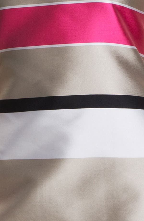 Alternate Image 3  - St. John Collection Stripe Mikado Dress