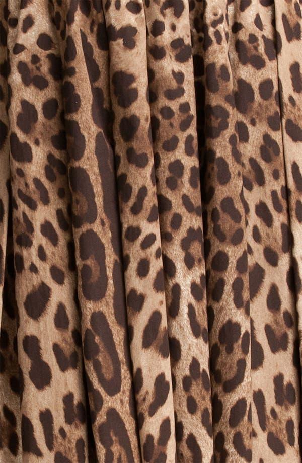 Alternate Image 3  - Dolce&Gabbana Leopard Print Full Skirt Dress