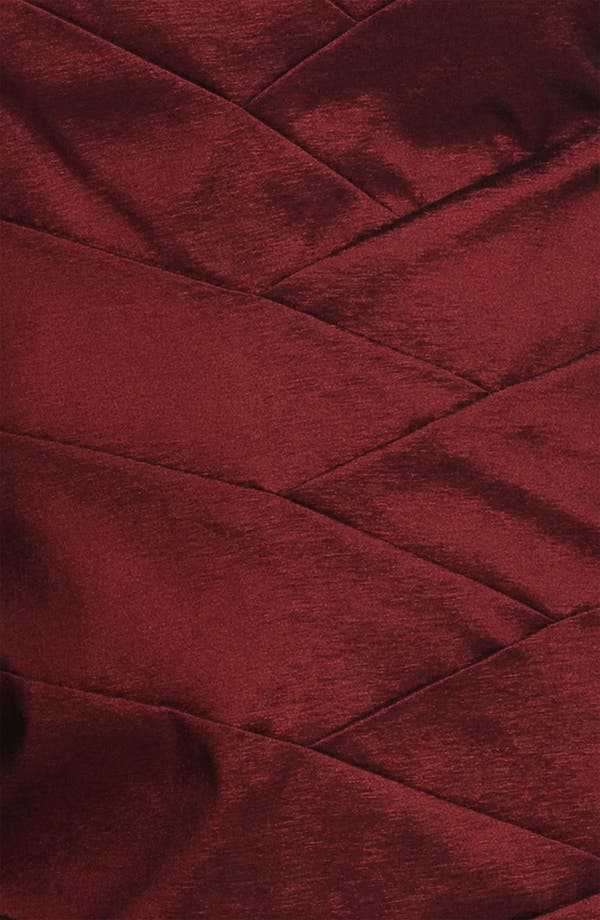 Alternate Image 3  - Adrianna Papell V-Neck Shutter Tuck Sheath Dress