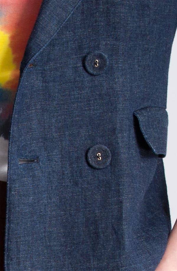 Alternate Image 5  - Marni Edition Double Breasted Denim Jacket