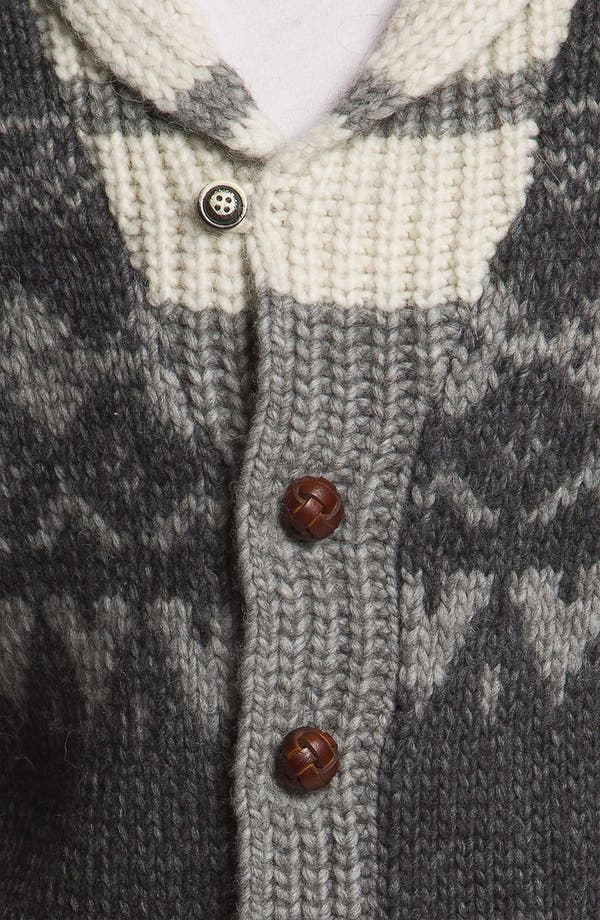 Alternate Image 3  - Woolrich John Rich 'Trapper Peak' Shawl Collar Cardigan