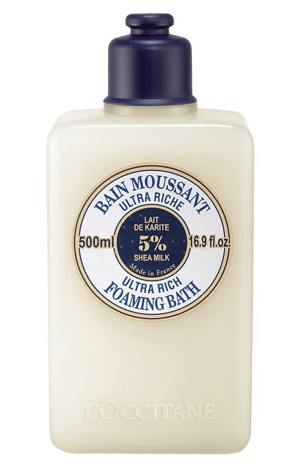 Main Image - L'Occitane Shea Butter Ultra Rich Foaming Bath