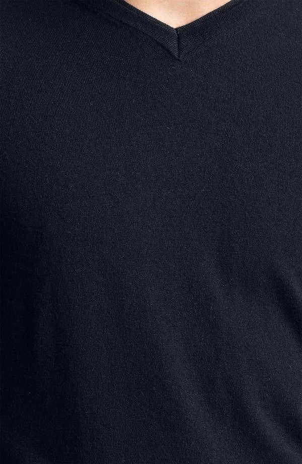 Alternate Image 3  - Armani Collezioni V-Neck Cashmere Sweater