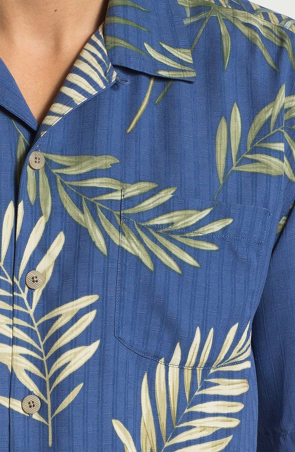 Alternate Image 3  - Tommy Bahama 'Fronds with Benefits' Silk Campshirt