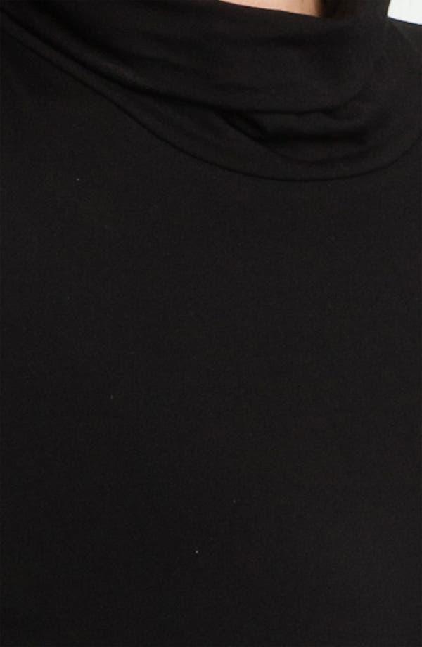 Alternate Image 3  - Eileen Fisher Scrunch Neck Dress (Plus)