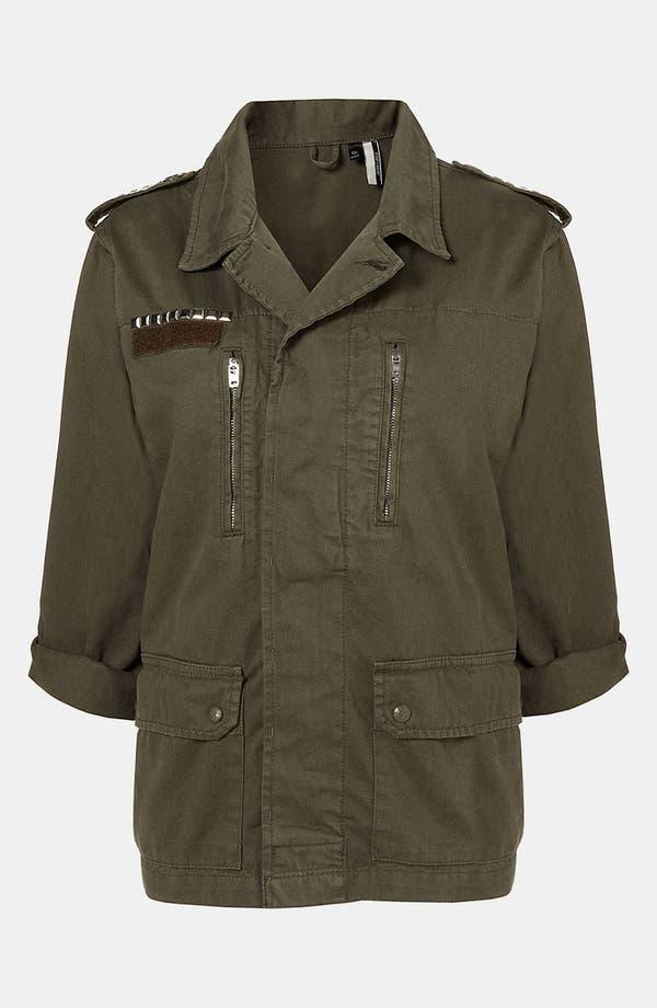 Alternate Image 2  - Topshop 'Army' Jacket
