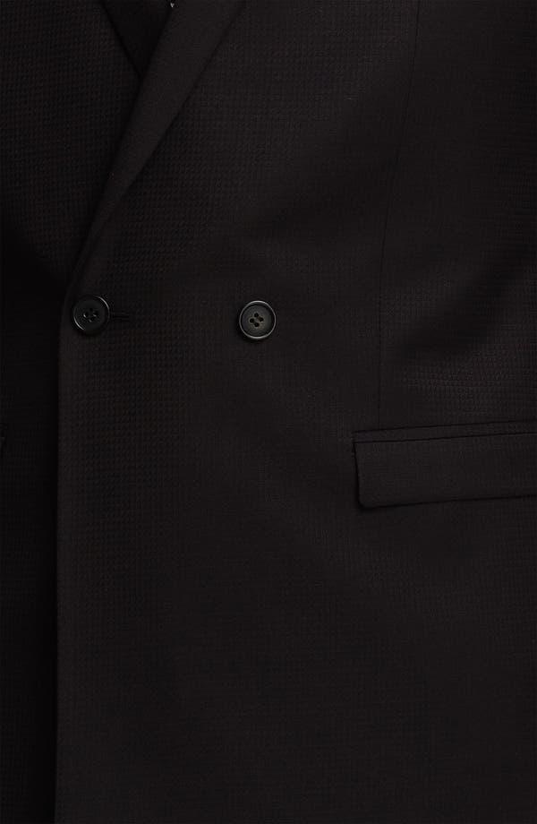 Alternate Image 3  - Topman Grid Check Double Breasted Tuxedo Jacket