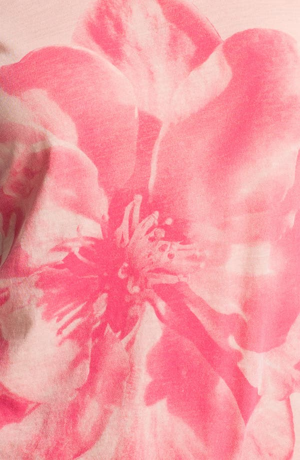Alternate Image 3  - Lucky Brand 'Washed Hibiscus' Tee
