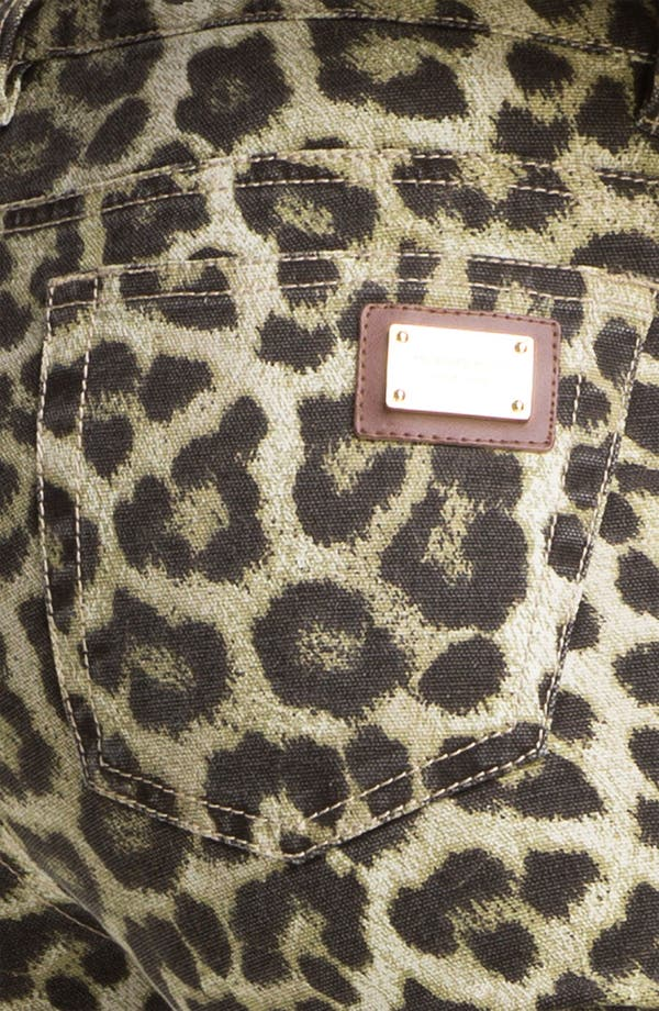 Alternate Image 3  - MICHAEL Michael Kors 'Savannah' Leopard Print Skinny Jeans