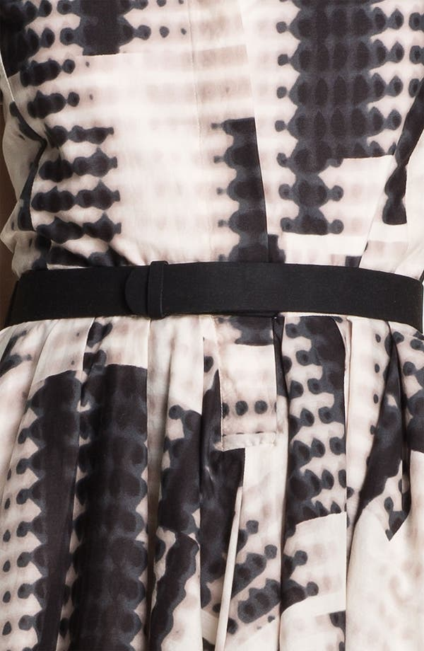 Alternate Image 3  - Halston Heritage Belted Abstract Print Dress