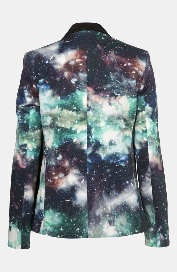Alternate Image 2  - Topshop 'Galactic' Print Blazer