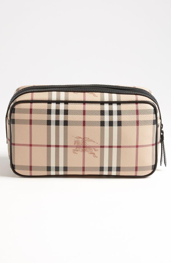 Alternate Image 2  - Burberry 'Haymarket Check - Coalburn' Travel Kit