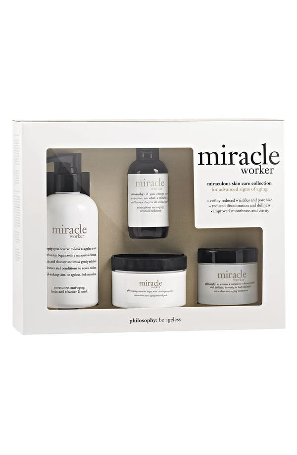 Alternate Image 2  - philosophy 'miracle worker' full size kit ($165 Value)