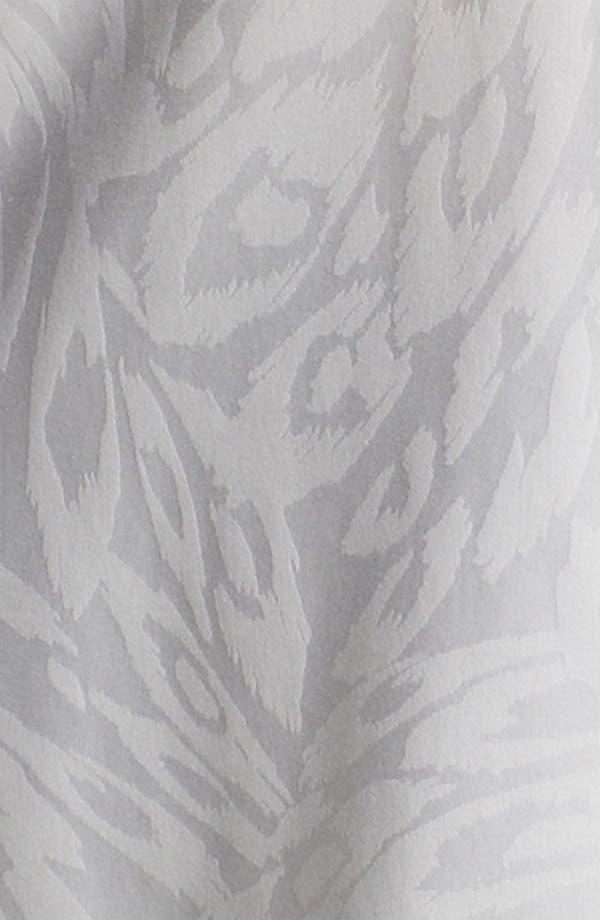 Alternate Image 3  - Foxcroft Animal Jacquard Shaped Shirt (Plus)