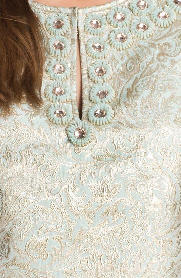 Alternate Image 3  - Tory Burch 'Lola' Metallic Silk Top