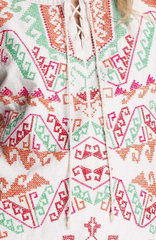 Alternate Image 3  - Free People Andean Embroidered Minidress