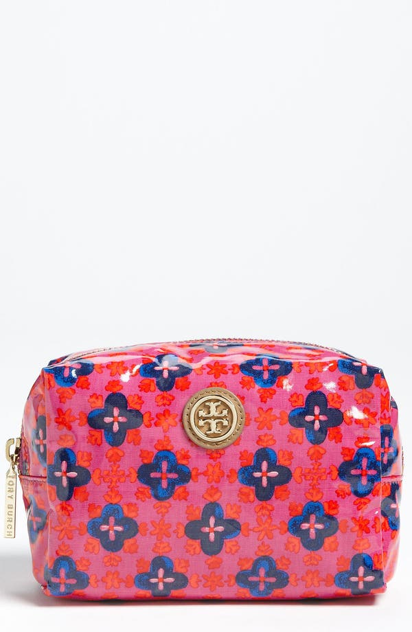 Main Image - Tory Burch 'Brigitte' Cosmetics Case