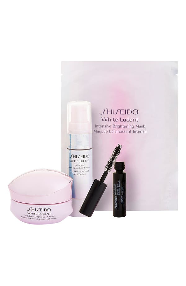Alternate Image 1 Selected - Shiseido 'Bright Eyes Glowing Skin' White Lucent Skincare Set ($110 Value)