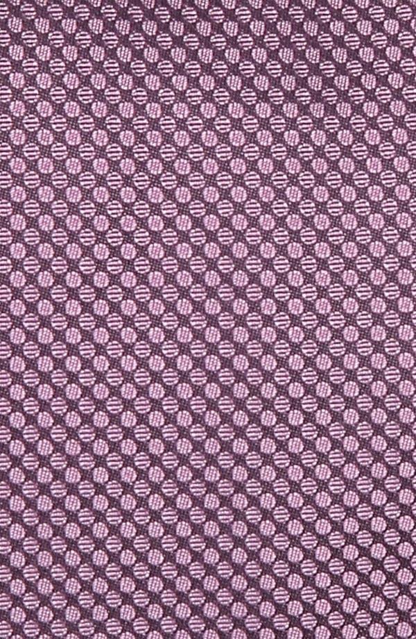 Alternate Image 2  - BOSS Black Woven Silk Tie