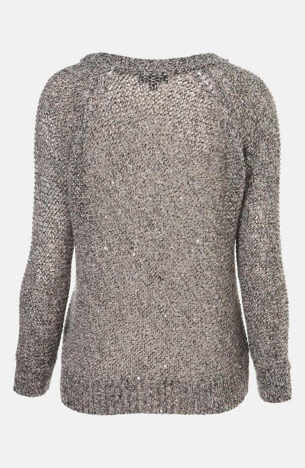 Alternate Image 2  - Topshop Sparkle Fuzzy Knit Sweater