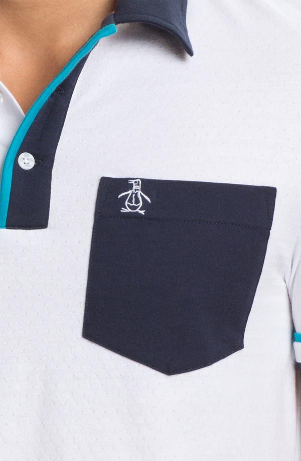 Alternate Image 3  - Original Penguin Perforated Polo