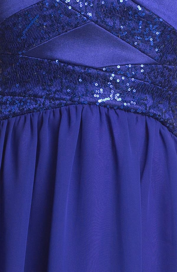 Alternate Image 3  - Hailey Logan Embellished Fit & Flare Dress (Juniors) (Online Only)