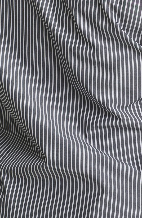 Alternate Image 3  - Foxcroft Stripe Shaped Shirt (Plus)