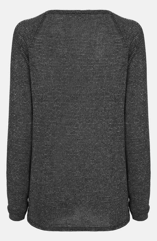 Alternate Image 2  - Topshop Two Tone Slouchy Maternity Sweater