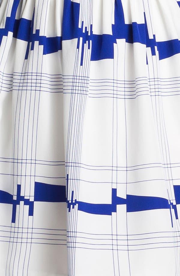 Alternate Image 3  - Milly 'Secretary' Silk A-Line Dress