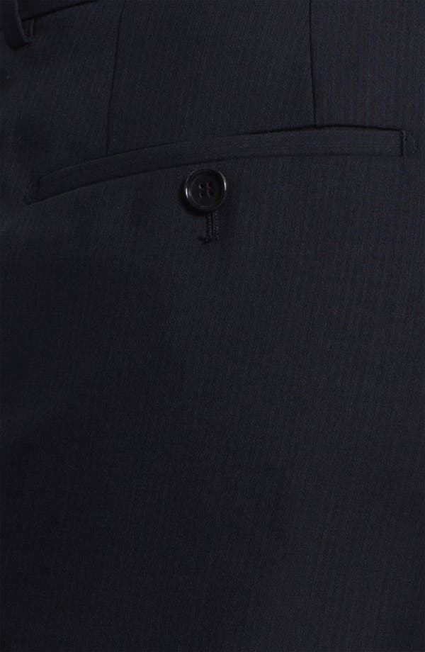 Alternate Image 3  - BOSS Black 'James' Flat Front Trousers