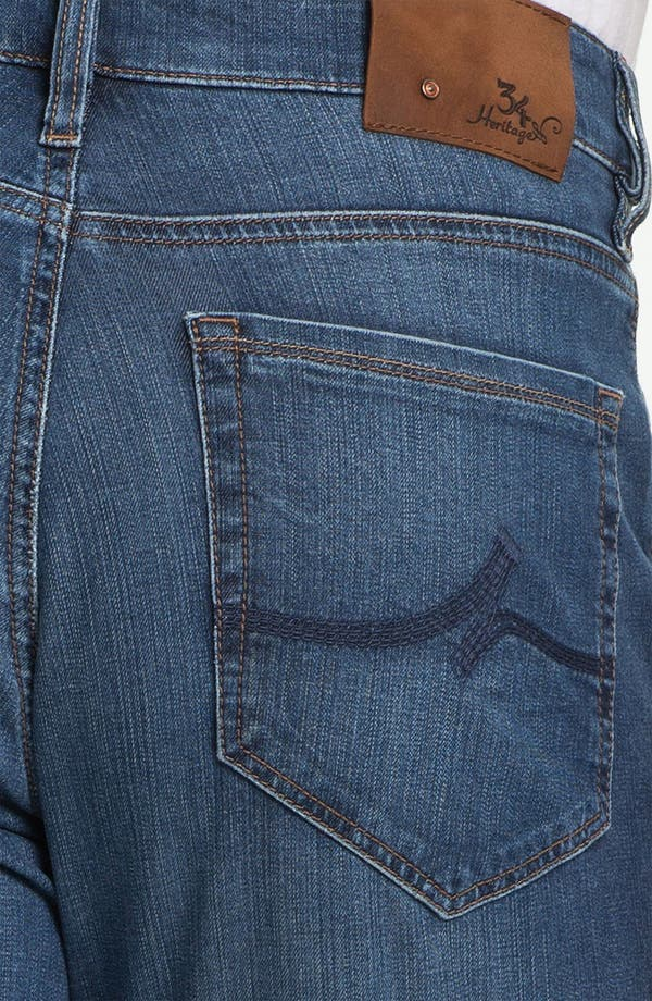 Alternate Image 4  - 34 Heritage 'Confidence' Relaxed Leg Jeans (Mid Cashmere) (Online Only)