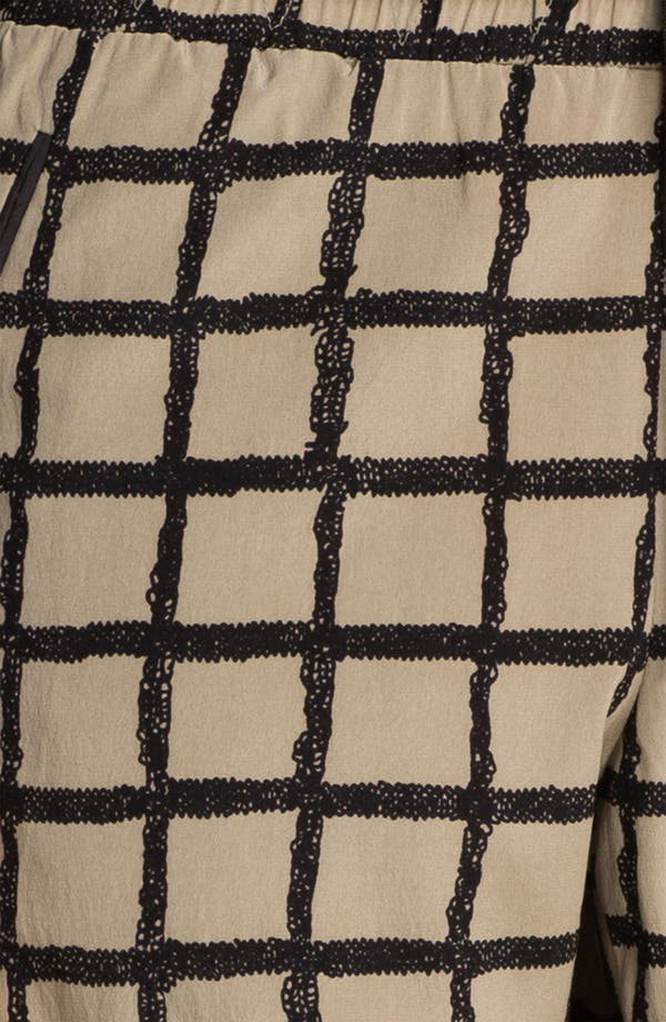 Alternate Image 5  - rag & bone Windowpane Silk Pants
