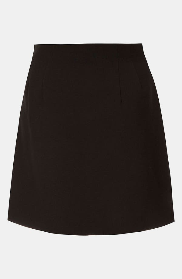 Alternate Image 2  - Topshop Flannel Faux Wrap Skirt