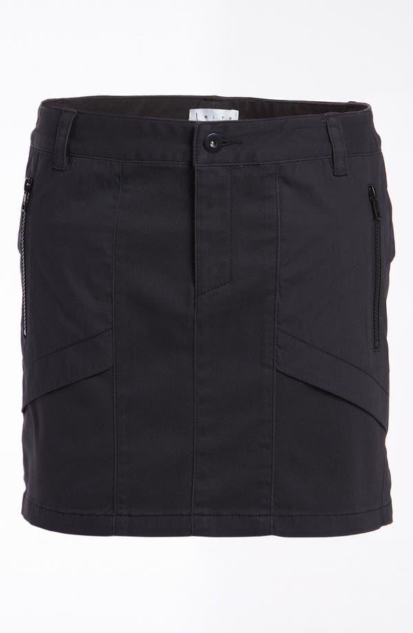 Main Image - Leith 'Sporty' Mini Skirt